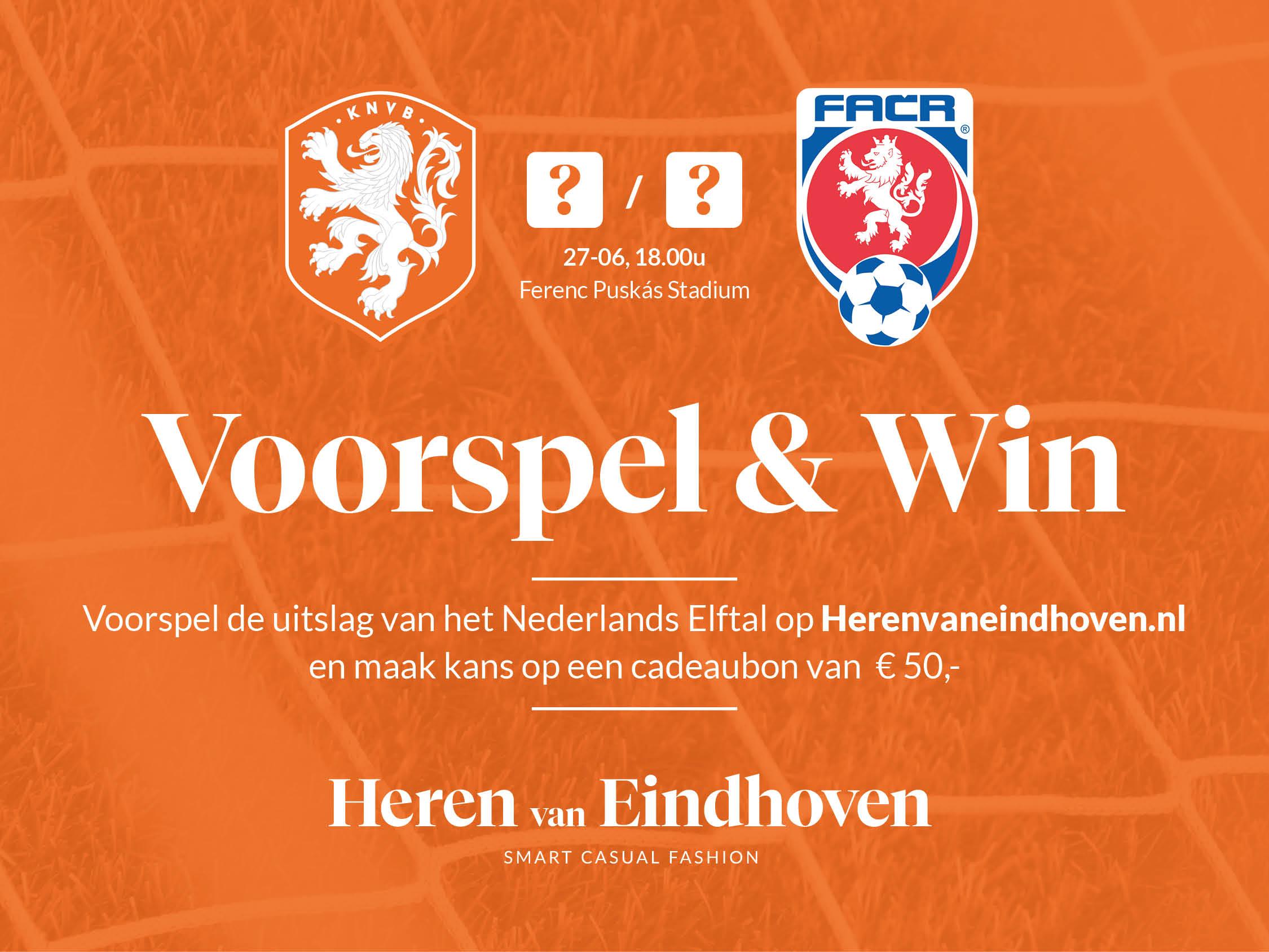 Voorspel en win, Nederland - Tsjechië